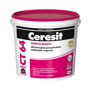 Короїд акриловий Cerasit CT64 (зерно 2мм) , 25кг
