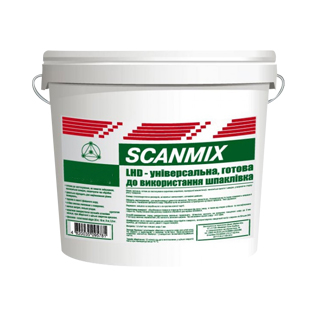 Шпаклівка готова фінішна Scanmix LHD, 16кг