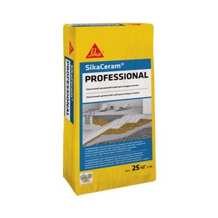 Клей для плитки Sika Professional, 25кг