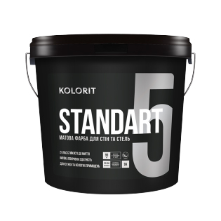 Водоемульсія Kolorit Standart 5, 9л