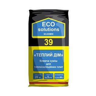 Клей для пінопласту Eco Solutions 39, 20кг