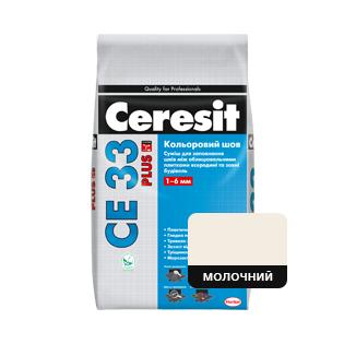 Фуга Cerasit CE 33 Молочна, 2кг