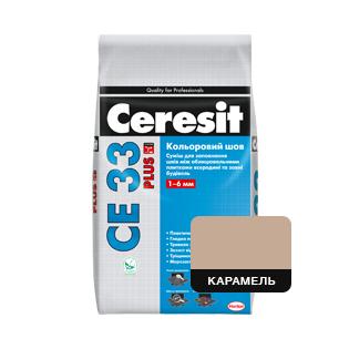 Фуга Cerasit CE 33 Карамель, 2кг
