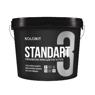 Водоемульсія Kolorit Standart 3, 0.9л