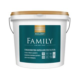 Водоемульсія Kolorit Family, 0.9л