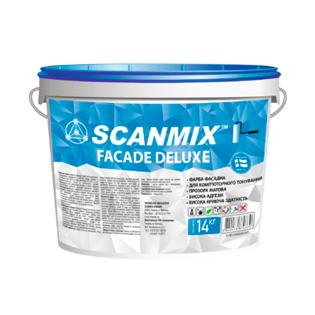 Фасадна фарба Skanmix Fasade Delux, 10л